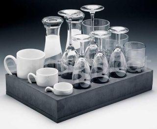 Soporte copa o vaso espuma 25 x 24 cm en armario cocina autocaravana 1