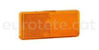 Reflector Jokon R118 naranja 90 x 40 mm rectangular con adhesivo
