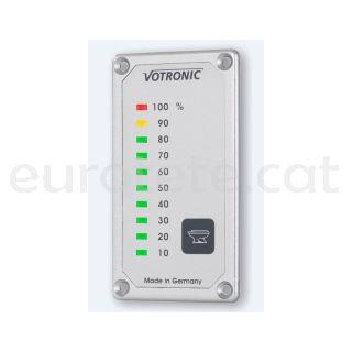 Votronic S Fäkaltankanzeige indicador nivel tanque con led display 1