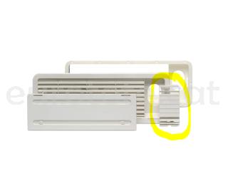 Dometic LS 100 rejilla lateral ventilacion para frigorifico nevera de la autocaravana 1