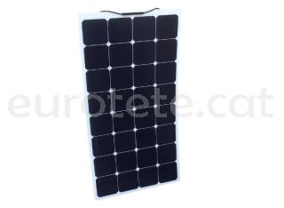 Placa solar 135 watts 148 x 57 monocristalina i flexible per autocaravana o camper