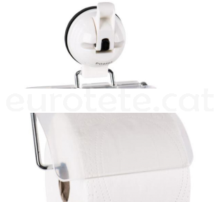 Portarrollo con ventosa para papel higienico del lavabo autocaravana 2
