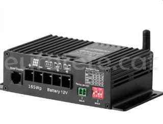 MPPT Bluetooth 25 amperios y 350 watios regulador solar autocaravana 00