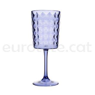 Copa alta azul Marine elegance de policarbonato autocaravana 1