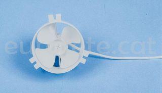 Ventilador para rejilla redonda blanca ventilación
