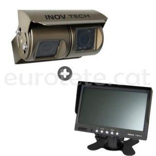 Darrere de la càmera Kit Inovtech doble autocaravana