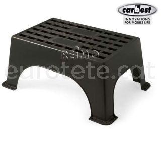 Escalon plastico negro alta calidad para caravaning