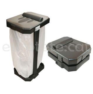 Cub de basura plegable per camping