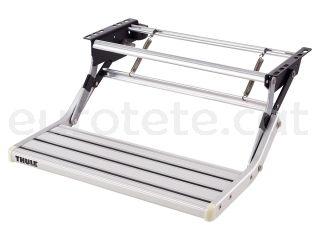 Escalon manual Thule 550 Omni Step single en aluminio a 12 voltios
