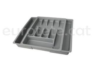 Cubertero extensible de 24 cm a 48 cm x 38 cm organizador cubiertos 1
