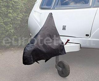 Funda lanza 118 cm en poliester negro para protector remolque caravana 2