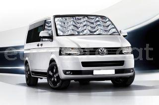 Volkswagen T5 aislante termico interior frontal y 2 puertas laterales 1
