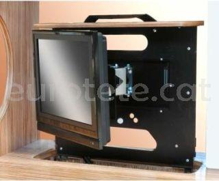 Project 2000 suport LCD amb moviment dret, esquerre o posicio fixa per autocaravana