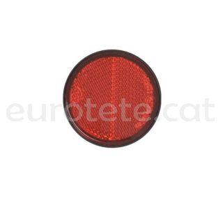 Reflector vermell adhesiu Ø 58 adhesiu per remolc o altres