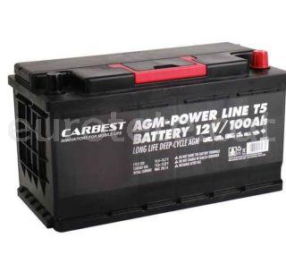 Bateria 100 agm 35 x 17 x 19 compacta i VW T5