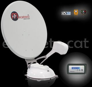 Antena satel.lit Mecatronic ASR 850 Flat Skew Plus automatic