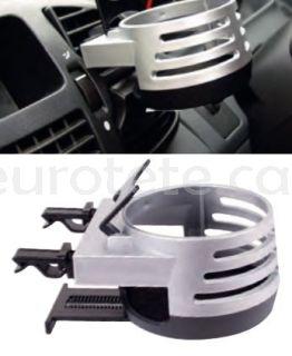 Soporte para vaso o refresco para sujetar en la rejilla ventilacion del coche o de autocaravana 1