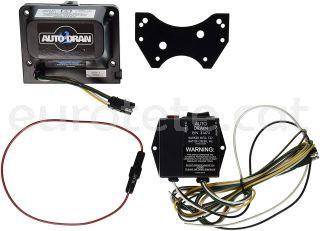 Valvula electrica para aguas grises para el drenaje automatico Auto Dran de la autocaravana 1