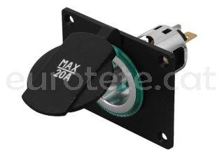 Enchufe power con marco ProCar 12 - 24 voltios maximo 20 amperios 3