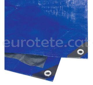 Suelo avance 4 X 5 metros plastico alta calidad azul oscuro  para alfombra caravana 1