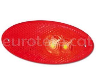 Hella piloto rojo ovalado con cable largo autocaravana 1