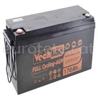 Bateria agm 170 amperios Vechline full cycling