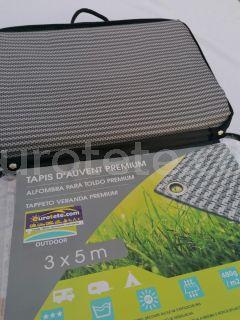 Sol avanç 300 x 500 mm premium gris catifa avanç 480 g / m2 camping