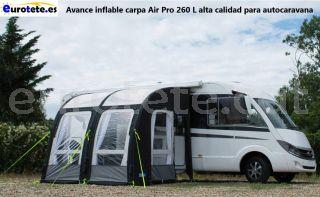 Avance inflable carpa Air Pro 260 L alta qualitat per a autocaravana 1