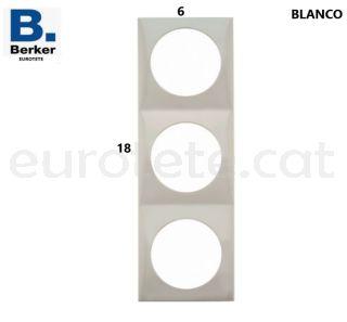 Berker-blanc-triple-marc-interruptor-electricitat-polsador-inprojal-gala-autocaravana