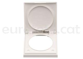 Berker blanc marc amb tapa electricitat 1