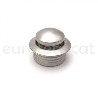 Polsador mini platejat amb anell tancament push lock moble camperizatcio 1