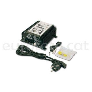 Nordelettronica NE287 kit 17 A amb cables carregador bateria autocaravana 1