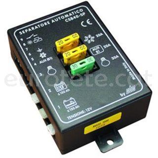 Separador bateria automatic CBE 40 SP a 12 volts autocaravana campertzacio camper 1