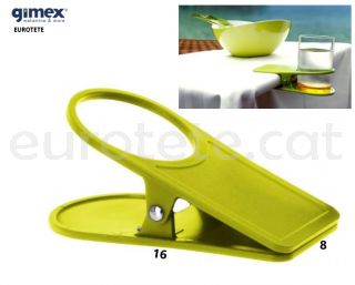 Clip-pinça-taula-verd-pistatxo-llauna-refresc-Gimex-parament-càmping-caravana-autocaravana-1
