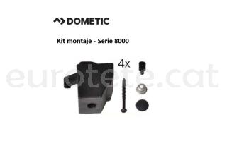 Dometic serie 8000 smev Kit 4 sistema de fixacio cuina 1