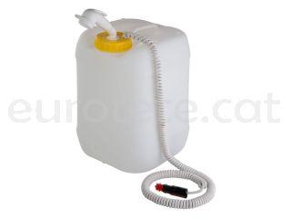 Bido diposit aigua 20 litres amb rosca DIN 96 i kit dutxa portatil Comet 1