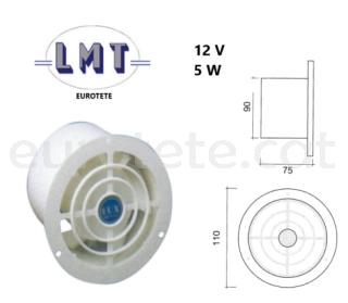 Extractor electric sostre o airejador a 12 volts autocaravana 1