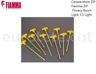 Piquetas Fiamma Caravanstore ZIP, Fiamma ZIP, Privacy Room, Light, CS Light kit 10 unidades avance camping 1