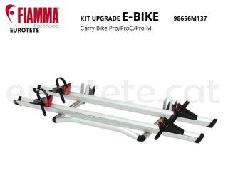 Fiamma kit upgrade E-bike 98656M137 bicicleta electrica para Carry Bike Pro, Pro M y Pro C