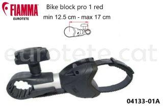 Fiamma bike blocK pro 1 black negre braç porta bicicletes 04133-01A