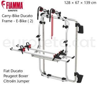 Fiamma-Carry-Bike-Ducato-Frame-Citroën-Jumper-Fiat-Ducato- Peugeot-Boxer-porta-bicicletas-aluminio-furgoneta camper-1