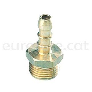 Gas conexion macho 20 x 15 mm