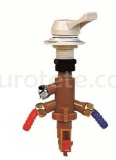 Aixeta premesclador aigua freda i calenta connexio manega aigua 10 mm