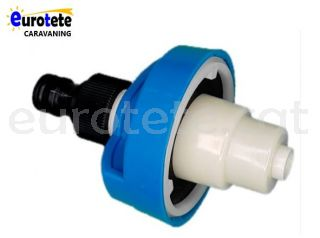 Bocana blau connector rapid adaptador manega aigua autocaravana 1