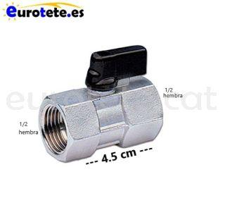 Clau-de-pas-1/2-esfera-rosca-femella-connector-ràcord-aigua-instalacio-papallona-autocaravana