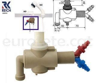 mesclador-monocomandament-taulell-Reich-dutxa-bomba-de-aigua-ràcord-mànega-aigua-instal·lació-autocaravana-caravaning-fontaneria-aixetes