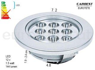 Plafó-led-encastable-12-volts-carbest-833.191-reimo-autocaravana-caravana