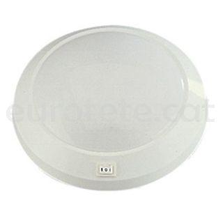 Plafo 23 cm circular 12 volts autocaravana 1