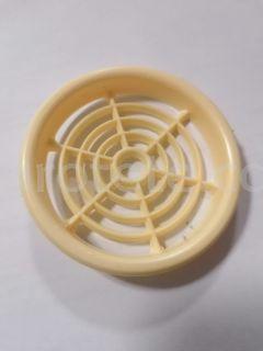 Reixeta 6.5 cm beig rodona per ventilacio 1