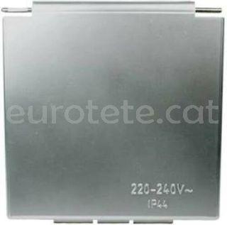Tapa CEE gris silber 105 mm x 105 mm autocaravana 1